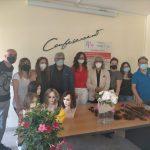 """""""Parrucche in dono"""" prosegue il progetto di Assoacconciatori. Ieri la consegna di capelli veri per donare nuove parrucche a pazienti oncologiche"""